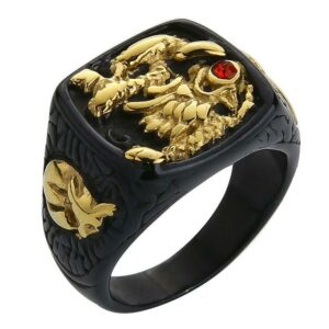 Dragon Cocktail Ring