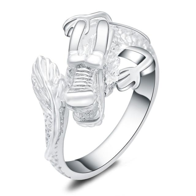 Charming Women Dragon Ring