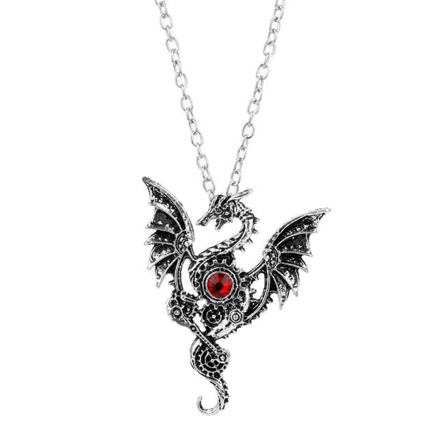 Wings of fire Dragon Necklace
