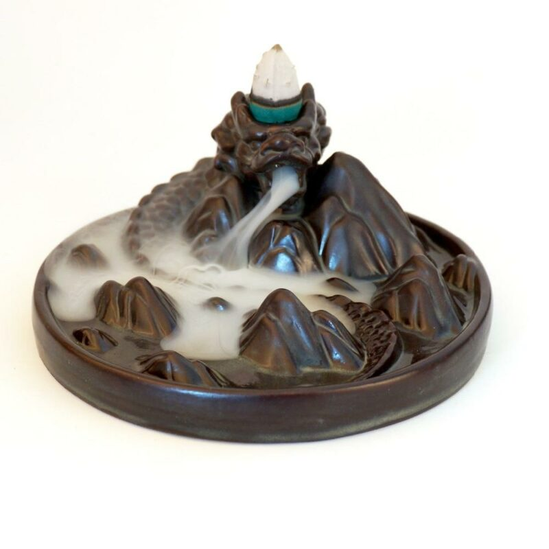 Ceramic Incense Burner Dragon