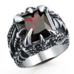 Gothic Dragon Ring