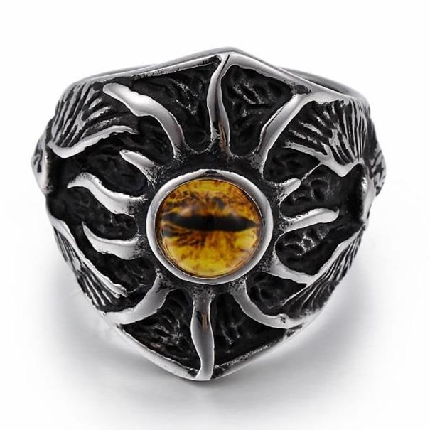 Eye of the Dragon Ring Stainless Steel