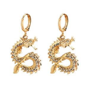 Dragon Hoop Earrings