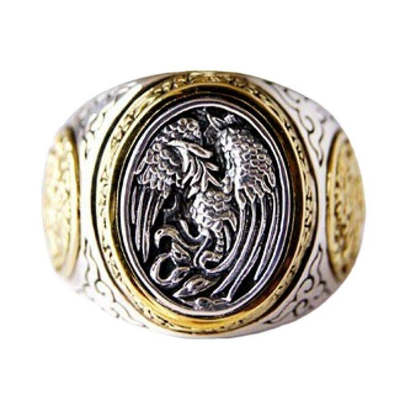 Mens Dragon Ring