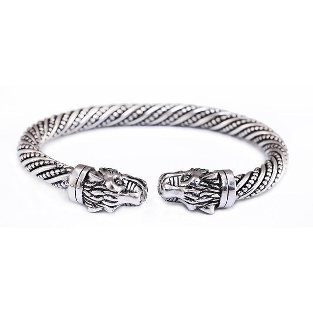Chinese Silver Dragon Bracelet