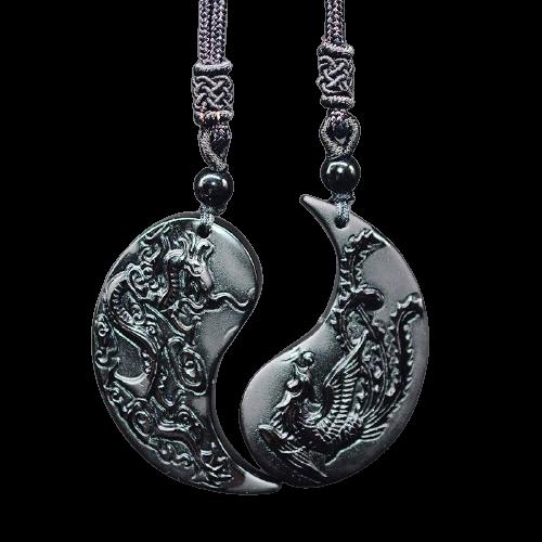 Dragon Yin Yang Necklace