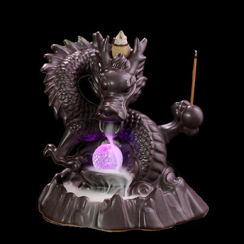 Smoke Breathing Dragon Incense Burner