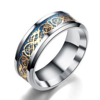 Dragon Celtic Ring