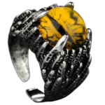 Dragon Eye Ring Yellow