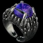 Blue Eyes White Dragon Ring