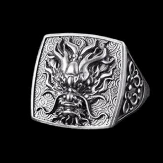 Vintage Dragon Ring