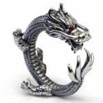 Dragon Ring Silver