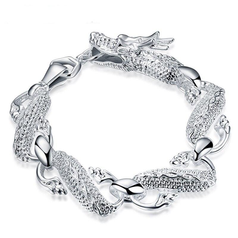 Dragon Bracelet 925 Sterling Silver