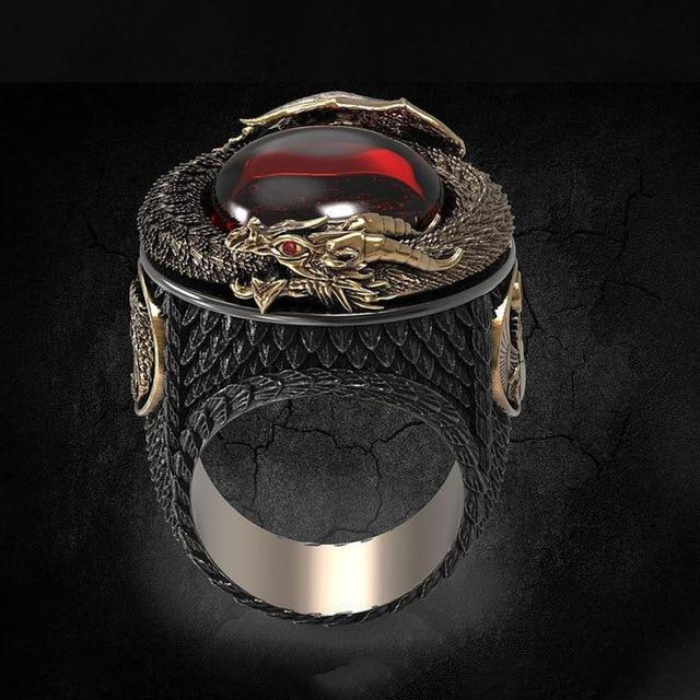 Firestone Eye of the Dragon Ring