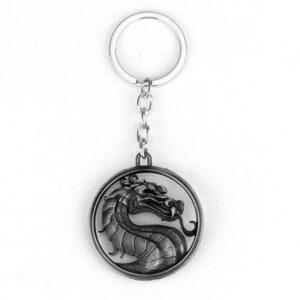 Dragon Chain Necklace Silver