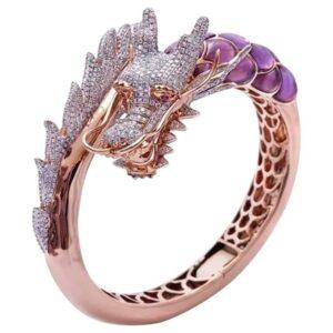 Dragon Diamond Engagement Ring