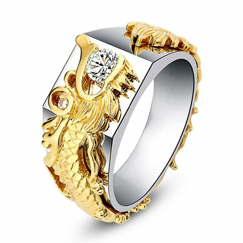 Ring With Dragon
