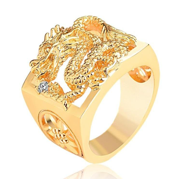 Gold imperial Dragon Ring