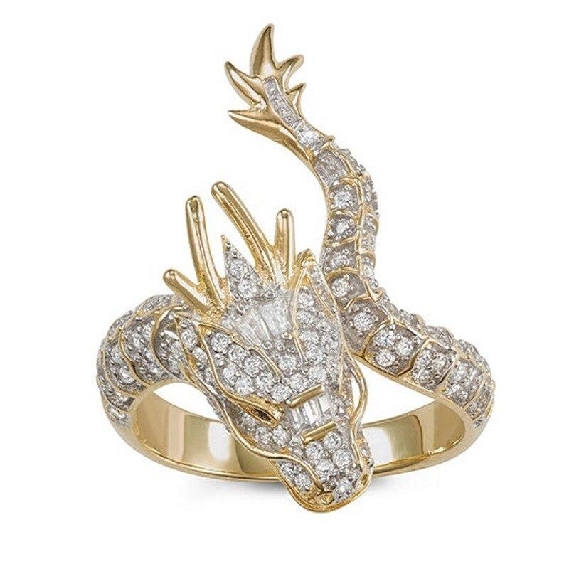 Diamond dragon Ring Second