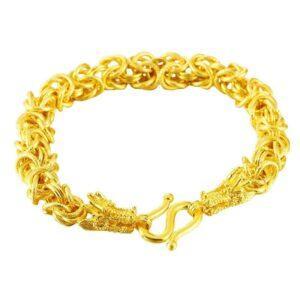 Dragon Bracelet Gold