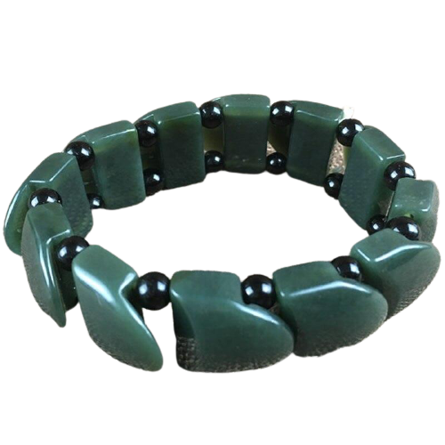 Jade Dragon Scale Bracelet