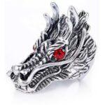 Cheap Dragon Ring Steel Head