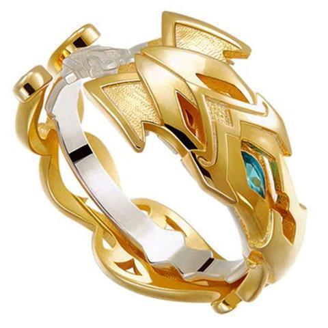 Golden Armor Dragon Ring