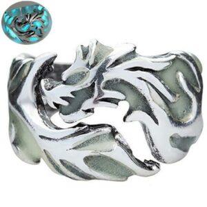 Stainless Steel Dragon Ring