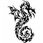 Dragon Sticker Divine Art