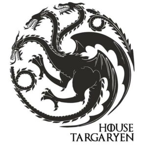 Dragon Sticker Game Of Thrones