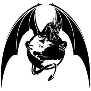 Dragon Sticker Earth God 15cm