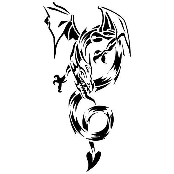 Dragon Sticker Chimera 57cm
