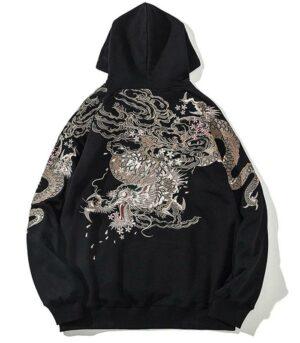 Dragon Hoodie Ryujin Soft Cotton Streetwear