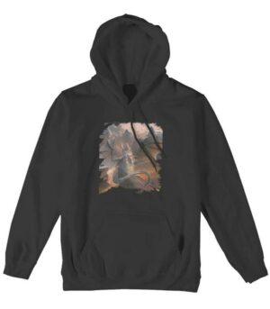Dragon Hoodie Cat Cotton Sweatshirt