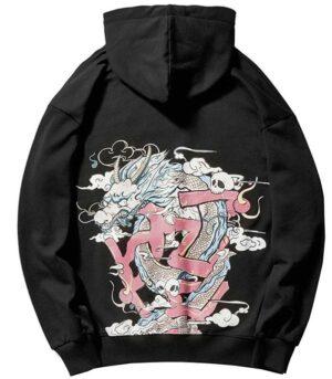Sweat Dragon Chinois Harajuku