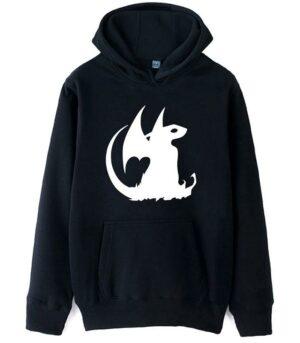 Dragon Hoodie Nocturnal Fury Cotton
