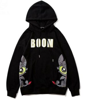 Dragon Hoodie toothless Recycled Polyester
