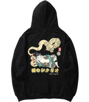 Dragon Hoodie Neko Streetwear