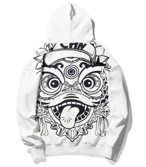 Dragon Hoodie Chinese New Year Cotton