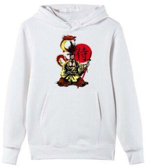 Dragon Hoodie Samurai Bio Cotton