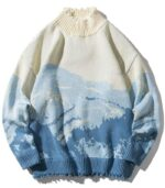 Dragon Sweater Pullover Mountains of Japan