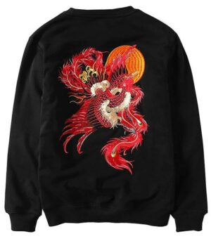 Dragon Sweater Phoenix of Fire Cotton