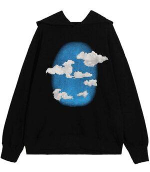 Dragon Hoodie Cotton Cloudy Streetwear
