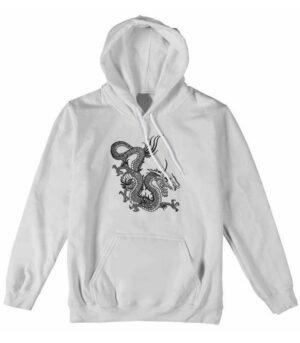 Dragon Hoodie Zennyo Cotton Ecological