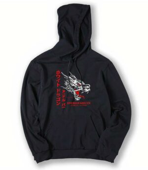Dragon Hoodie Dragons Head Cotton