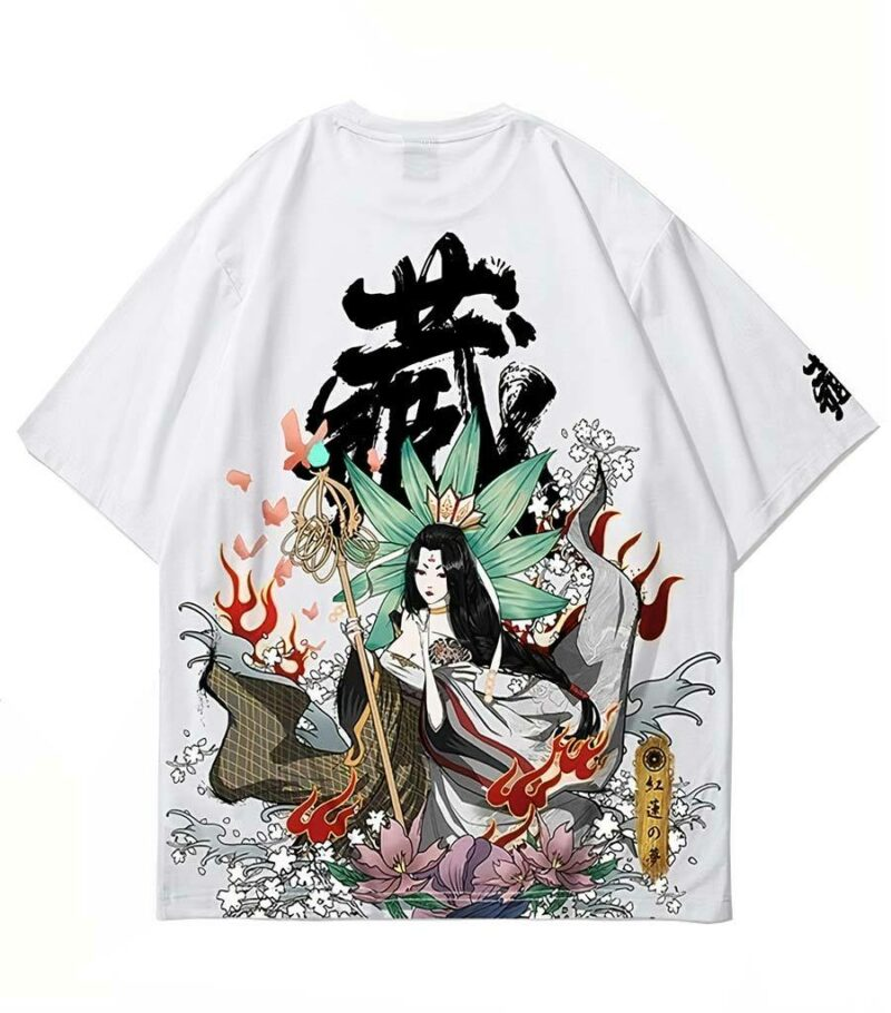Dragon Tshirt Amaterasu High Quality Cotton