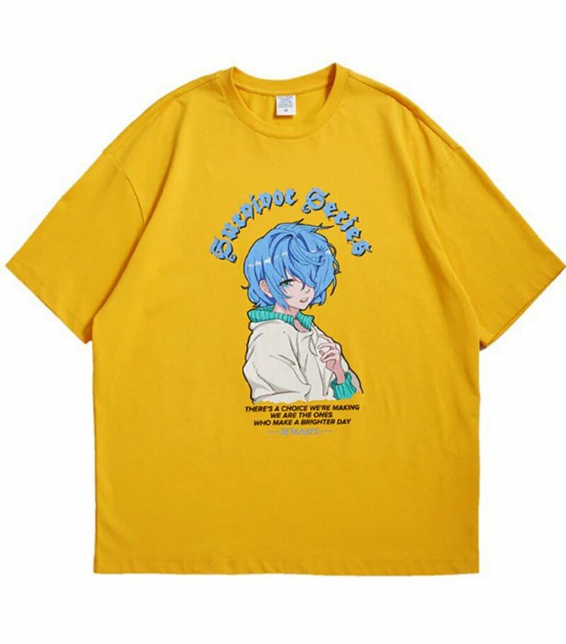 Dragon Tshirt Japanese Anime Biological Cotton