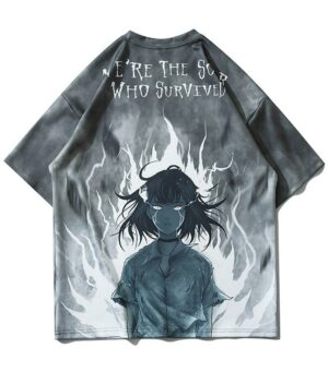Dragon Tshirt Anime Streetwear Unique Design