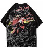 Dragon Tshirt Mystic Creature Cotton