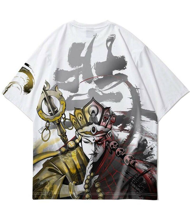 Dragon Tshirt Daimyo Polyester Japanese Outfit